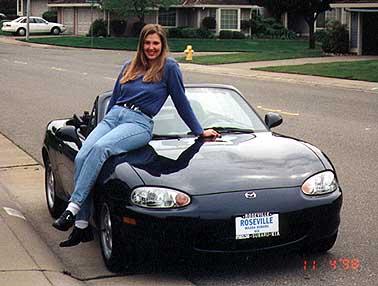 mazda miata mx  convertible