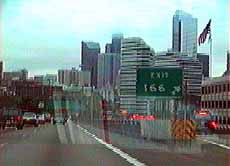 Leaving Downtown Seattle