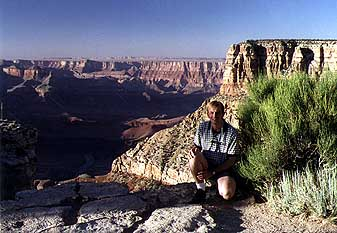 Marcus at the Grand Canyon